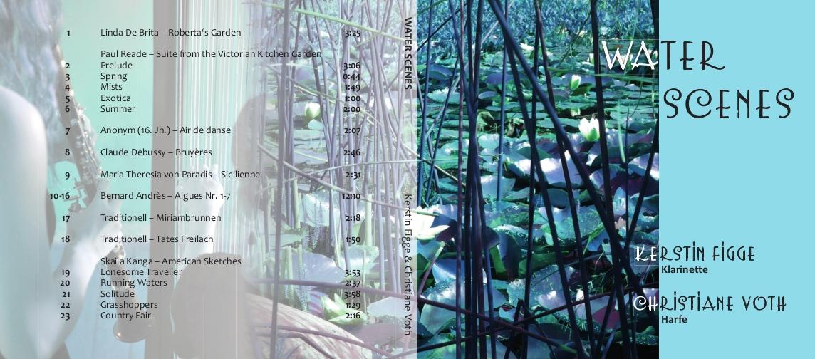 Water Scenes CD Cover